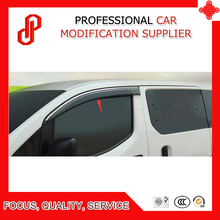 High Quality Injection molding trim vent shade rain sun wind deflector window visor for NV200 2010 11 12 13 14 15 16 2018 window deflector for kia picanto 2004 2010 rain deflector dirt protection car styling decoration accessories molding