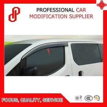High Quality Injection molding trim vent shade rain sun wind deflector window visor for NV200 2010 11 12 13 14 15 16 2018