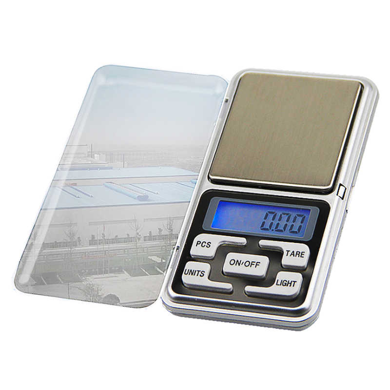 Urijk Mini Digital Scale 100/200/300/500g 0.01/0.1g High Accuracy  Backlight Electric Pocket For Jewelry Gram Weight For Kitchen