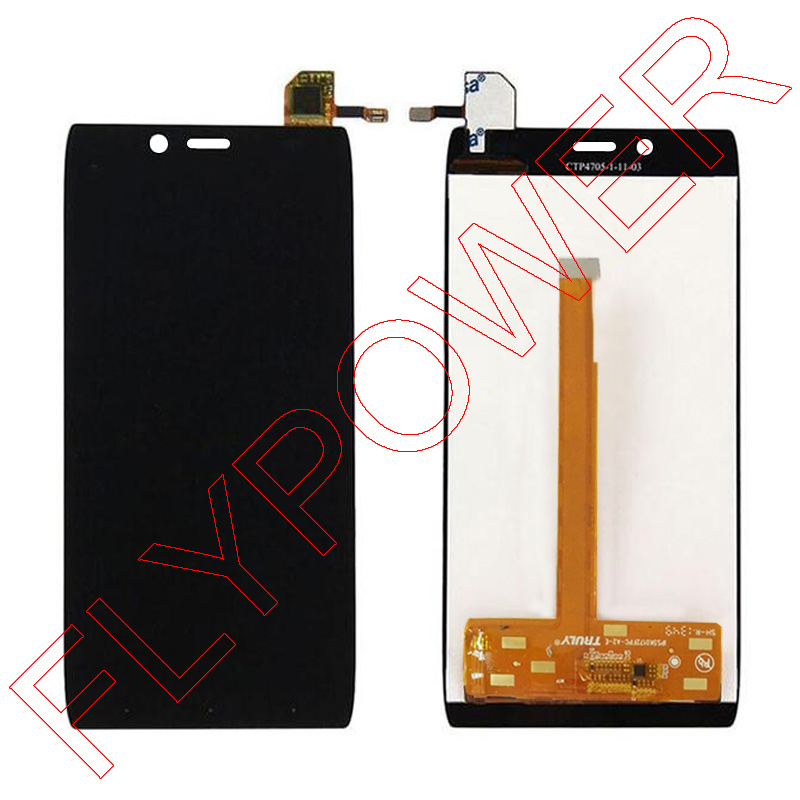 LCD Display +digitizer touch Screen Assembly For Alcatel One Touch idol alpha 6032 OT6032 6032A 6032X TCL S860 By Free Shipping