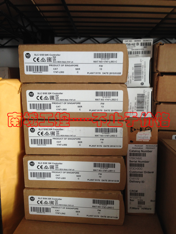 ALLEN BRADLEY 1747-L551,NEW AND ORIGINAL,FACTORY SEALED,HAVE IN STOCK allen bradley 1756 pa75 1756pa75 controllogix ac power supply new and original 100% have in stock free shipping