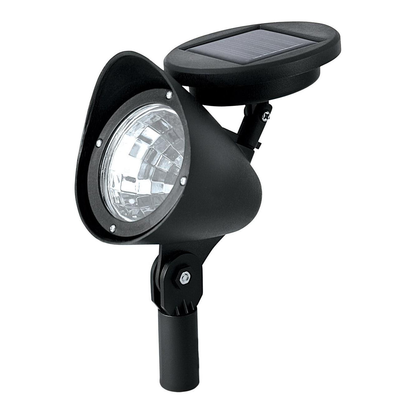 Bestselling Outdoor Solar Powered LED Spotlight Garden Pool Waterproof Spot Light Lamp