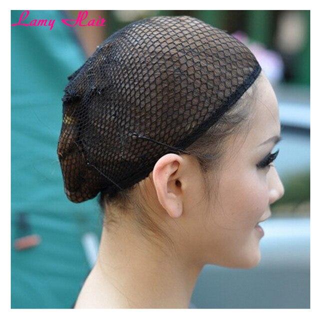 3pcs Lot Good Quality Mesh Weaving Net Wig Making Caps Black Hair Nets