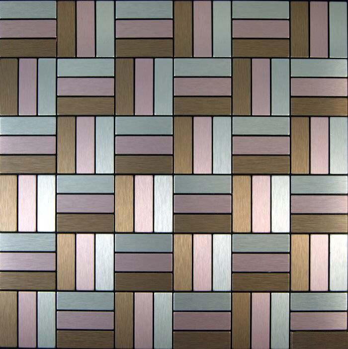 brown silver pink vinyl tile 11 sheets wholesale vinyl. Black Bedroom Furniture Sets. Home Design Ideas