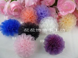 Free Shipping 9 Cm Silk Flower Christmas Diy Crafts Handmade Flowers Clothing