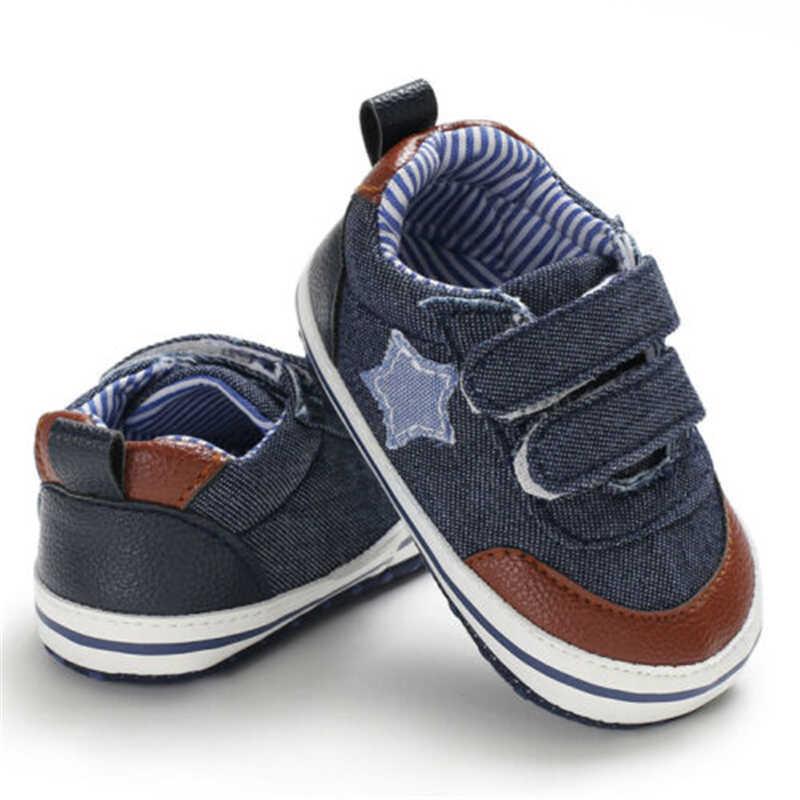 Nieuwe Mode Mooie Kinderen Katoen Casual Shorts Baby Soft Sole Crib Schoenen Baby Jongen Meisje Peuter Sneaker Anti-Slip 0-18 maanden