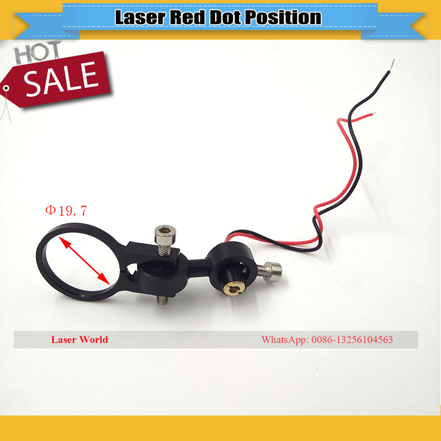 RED Dot Pointer Module Positioning Used For CO2 Laser Head For Laser Engraving Cutting Machine