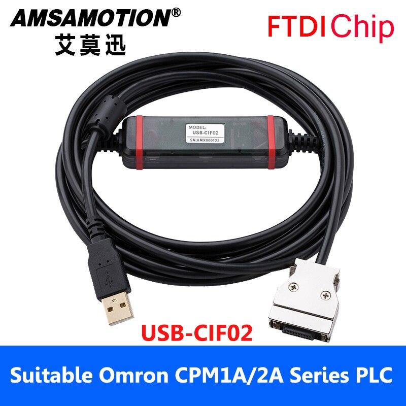 Adatto Omron PLC Cavo di Programmazione USB-CIF02 Cavo di Download CPM1A/2A Serie Scaricare Cavo di Comunicazione