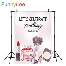 Funnytree backdrops para estúdio de fotografia de noiva festa de despedida de solteiro de maquiagem pintura em aquarela fundo photocall photobooth prop