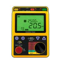 250 2500V Digital High Voltage Insulation Resistance Tester Megohmmeter Voltage Tester Ohm Meter Smart Sensor AR3123
