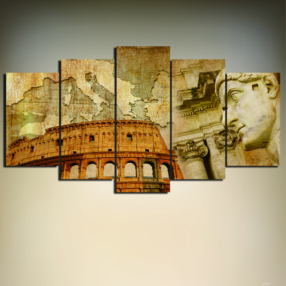Italian Wall Art For Living Room : Popular oil painting italian buy cheap
