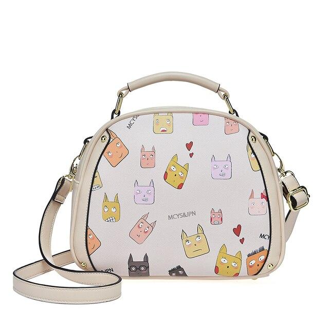 2017 Новый Японский Мультфильм сумки Для Девочек crossbody сак главная сумки для женщи Женского мешок женщин сумка hasp