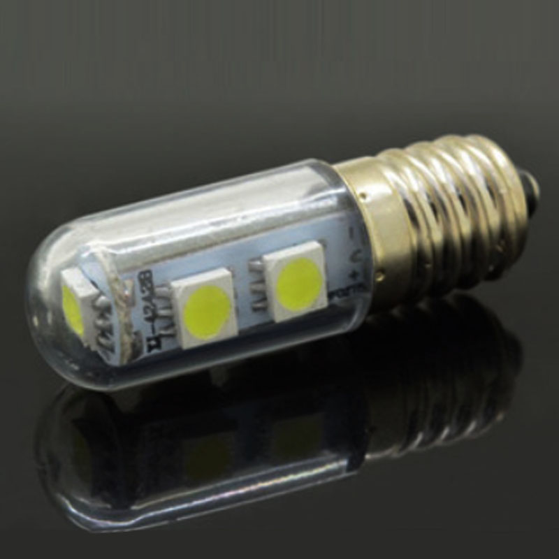1x Mini E14 LED Lamps 3014 SMD 1.5W 3W 5W 7W 9W Crystal Chandelier 220V Spotlight Corn Bulbs Pendant  Fridge Refrigerator Light 5w g9 45 x smd 3014 6500k silicone led corn lamp crystal spotlight bulb