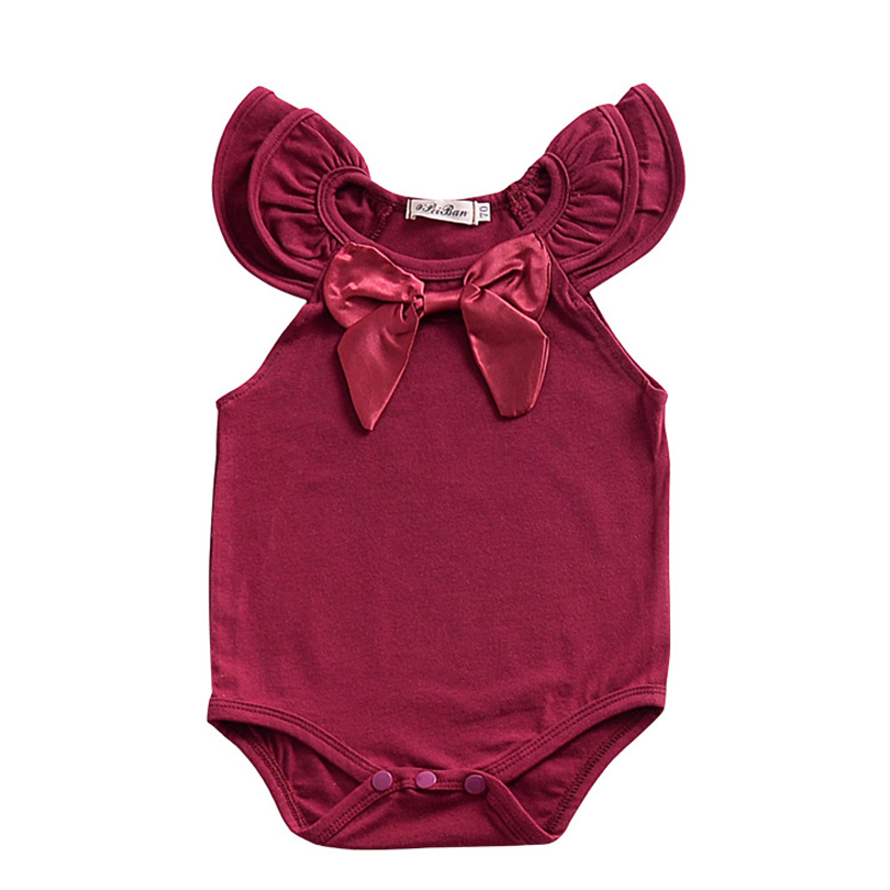 NewBorn Baby Dress Summer Cotton Bow Baby Rompers Girls Summer Kids Infant Clothes Baby Girls Jumpsuit Toddler Cute Bobo Bebe newborn baby girl organic cotton rompers suit clothes infant toddler girls long sleeve one piece cute jumpsuit rompers outfits