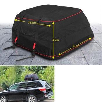 BBQ @ FUKA Impermeabile Auto Roof Top Vettore Cargo Bag Rack di Stoccaggio Borsa di Viaggio Dei Bagagli Fit For Toyota SUV Jeep Cherokee Wrangler