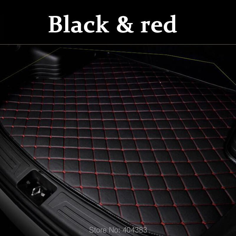 fit car trunk mat for Land Rover Discovery 3 4 freelander 2 Sport Range Rover Evoque 3D car styling carpet cargo liner sjcam sj4pfp