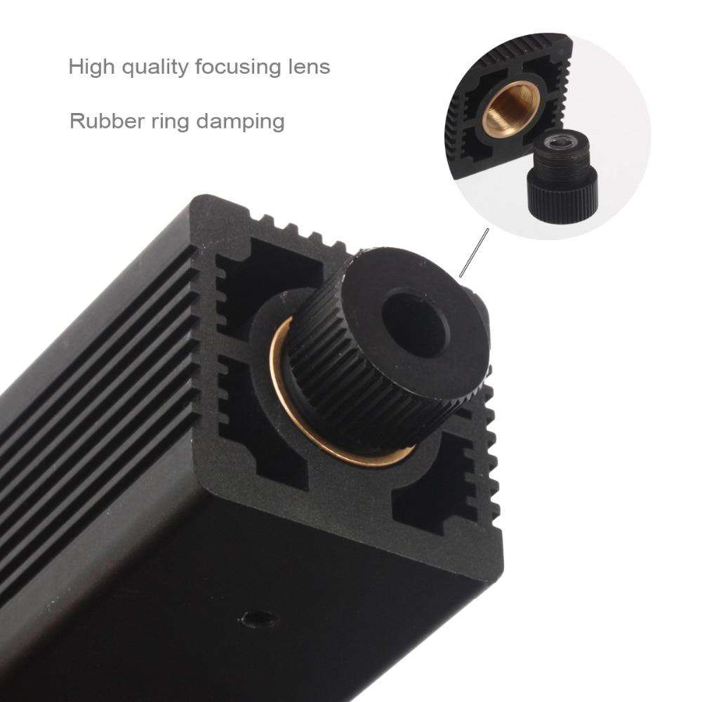 Image 5 - 7 Вт 450нм лазерная головка модуля для NEJE MASTER Лазерная deapth и металлическая гравировка Замена машины-in Запчасти для деревообрабатывающих станков from Инструменты
