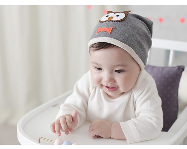 36316fa69 US $2.76 5% OFF|2016 Autumn Winter Cotton Baby Hat Infant Baby Owl Beanie  Cap Korean Style Hats for Newborns Cute Animal Baby Hat-in Hats & Caps from  ...