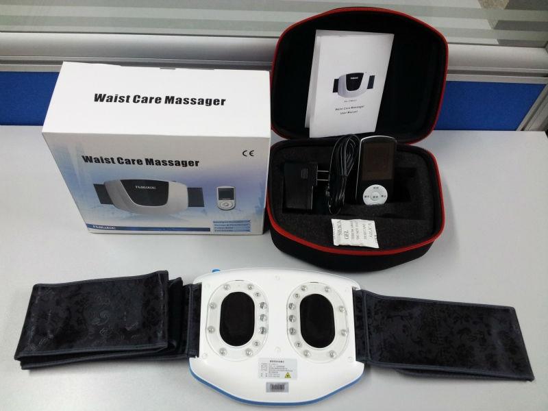 Уход за здоровьем, Мягкая Лазерная терапия 650 нм, Электрический массажер для талии, устройство для облегчения боли в спине, бесплатная доста...