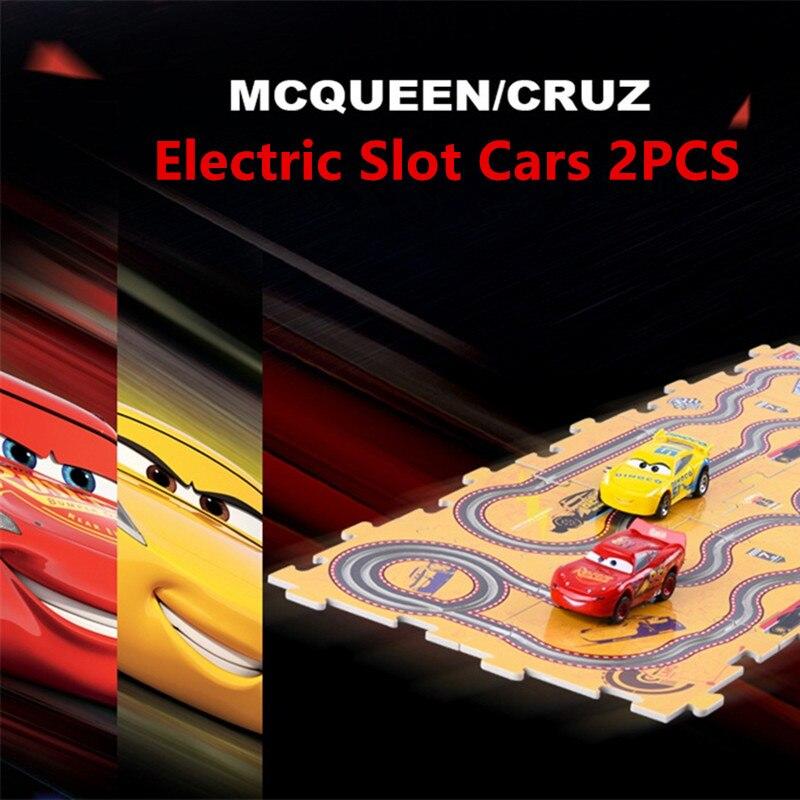 2017 Disney Pixar Cars 3 Macqueen Cruz 2PCS Kids Electric