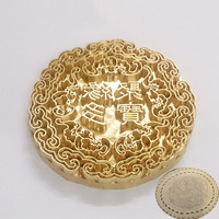 8mm 10mm Metal Brass Mould Wood Leather Stamp Custom Logo Design Tool Branding Plastic Cake Bread