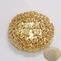 8mm 10mm Metal Brass Mould Wood Leather Stamp Custom Logo Design Tool Branding Plastic Cake Bread