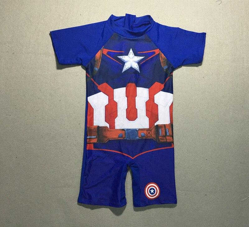 8f5be668e5273 Good Deal 2017 Korean New Arrivals Striped Boys Sunscreen Bathing Suit One-piece  Children Swimwear Short Sleeve Beach Kids Swimsuit 62778 - Fircittolm