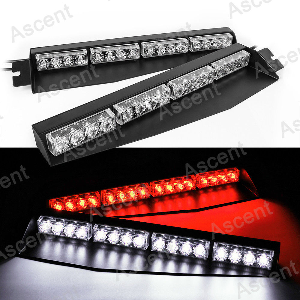 Car Lights Signal Lamp 32led Strobe Light Bar Car Roof Flash Warning Lamp For Ambulance Police Fireman Engineering Vehicles 92cm