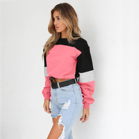 Anself Fashion Women Hoodies Crochet Long Sleeve Drawstring Casual Loose Thin Pullover Sweatshirts Short Harajuku Tops 2019 NEW