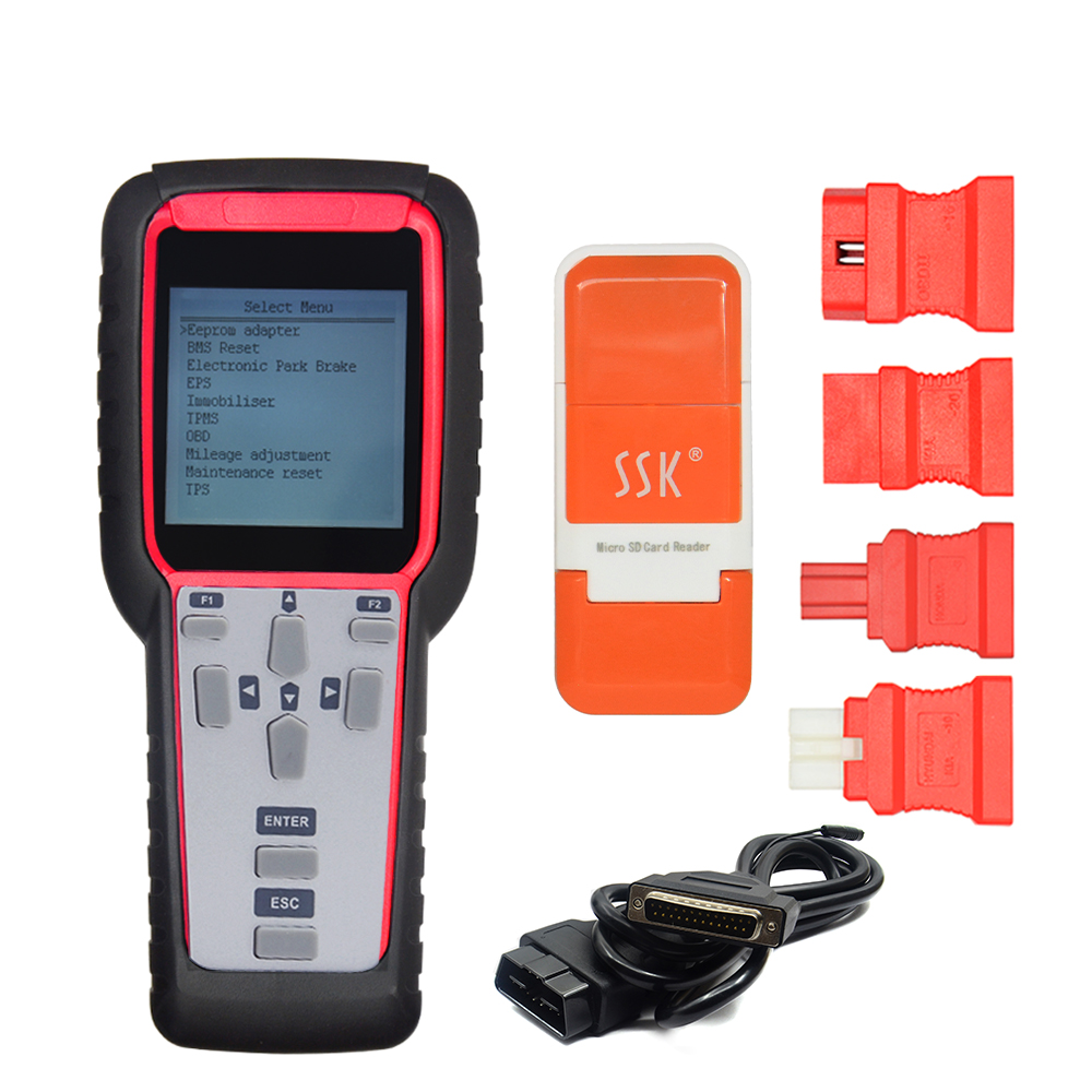 US $148 0 |2018 super sbb2 key programmer sbb scanner tpms programmer for  immo+obometer+obd software+oil service reset+tpms+eps+bms-in Auto Key