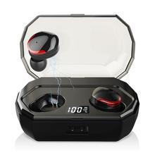 Leelbox TWS R10 Dual V5.0 Wireless Earphones Bluetooth 3D Stereo Sound Earbuds with Microphone and Charging box