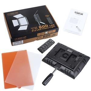 Image 5 - 永諾 YN600L YN600 600 Led ライトパネル 5500 18K Led 写真ライトビデオライトカメラとワイヤレス 2.4 グラムリモート APP リモート