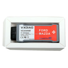Multi-Language ALLSCANNER VXDIAG VCX NANO For Mazda Diagnostic Tool With IDS V95 VXDIAG VCX NANO Better Than VCM Free Shiping