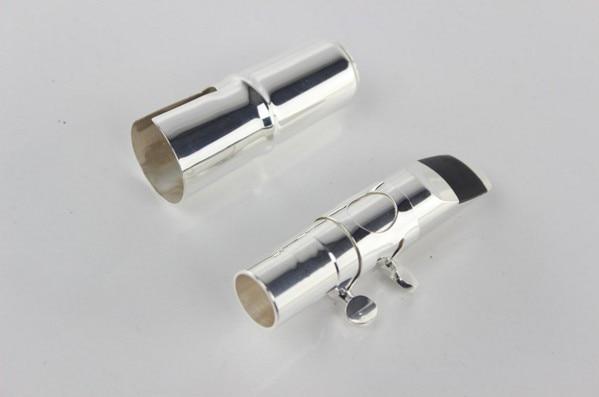 Jazz Metal Nozzle Alto /tenor/Soprano Saxophone Eb Sax Nozzle Silver Bronze Size 5--9 Musical Instrument Accessories dysprosium metal 99 9% 5 grams 0 176 oz