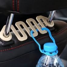 Car Back Seat Headrest Hanger Holder Hooks Car styling Plastic Car Clips Fasteners Organizer for Vehicle