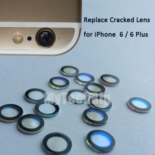 promo code add4c c69b0 US $4.99 |For Apple iPhone 6 or 6 Plus Camera Lens Original Sapphire  Crystal Single Glass Without Frame + 3M Sticker Replace Cracked Lens on ...