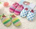 Kids Slippers Children Home House Girls Shoes Boys Indoor Bedroom Baby Cotton House Flats Child Soft Bottom