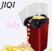 Electric Corn Popcorn Maker Household Automatic Mini Popcorn Machine Hot Air Popcorn Popper Gift EU US