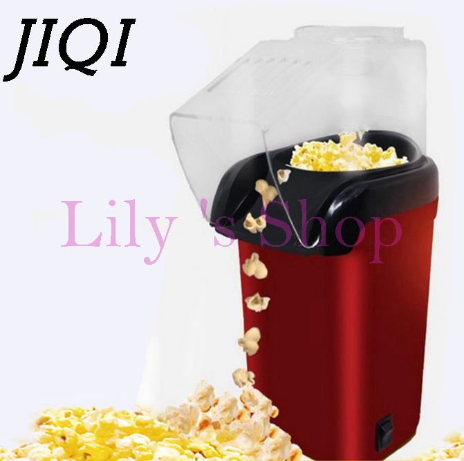 Electric Corn Popcorn Maker household automatic mini popcorn machine Hot Air Popcorn DIY Popper home use children Gift 110v 220V pop 06 economic popcorn maker commercial popcorn machine with cart