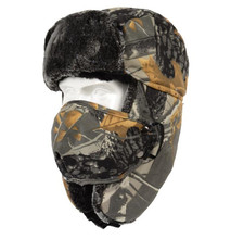 Winter Motorcycle Face Mask Moto Face Shield Trapper Trooper Hat Balaclava Cap Windproof Warm Ear Flap Ski Hunting Bomber Hat цена