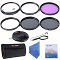 K&F Concept 67mm Slim UV CPL FLD ND4+Macro Close Up +4+10+ Cleaning kits Lens Filter for Nikon D7100 D5100 D3100 D3200 D7000