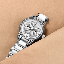 Women Watch Fashion Casual Stainless Steel Luxury Brand Megir Womens Quartz Clock Relogio Feminino+Box