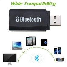 Bluetooth 4,0 мини автомобильный комплект стерео аудио музыкальный приемник адаптер Aux кабель USB питание bluetooth приемник беспроводной ключ EDR