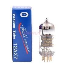 12AX7 rura próżniowa TJ Fullmusic 12AX7 rura elektroniczna zawór ECC83 do rocznika wzmacniacz audio DIY projekt dopasowany testowany