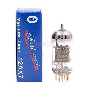Image 2 - Tj fullmusic 12ax7 ecc83 tubos de vácuo tubo de elétron para áudio de alta fidelidade do vintage tubo de guitarra amp fone de ouvido pré amplificador microfone