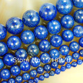 wholesale Natural Stone Beads Lapis Lazuli Round Loose Beads For Jewelry Making 15.5 inches Pick Size 4/6/8/10/12/14mm-F00078