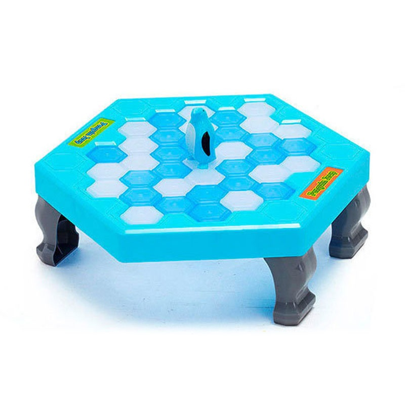 Penguin Trap Ice Breaker Game Save penguin on block Family Funny Party Game Early Education Toys Boys Girls Birthday Gift