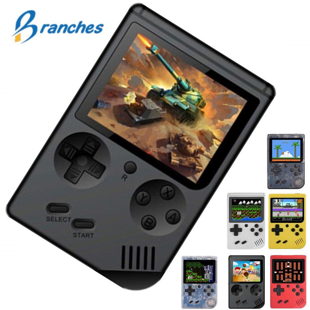 Coolbaby Retro Mini portátil consola de juegos portátil 8-Bit 3,0 pulgadas LCD a Color de los niños juego de Color jugador incorporado 168 juegos de Video