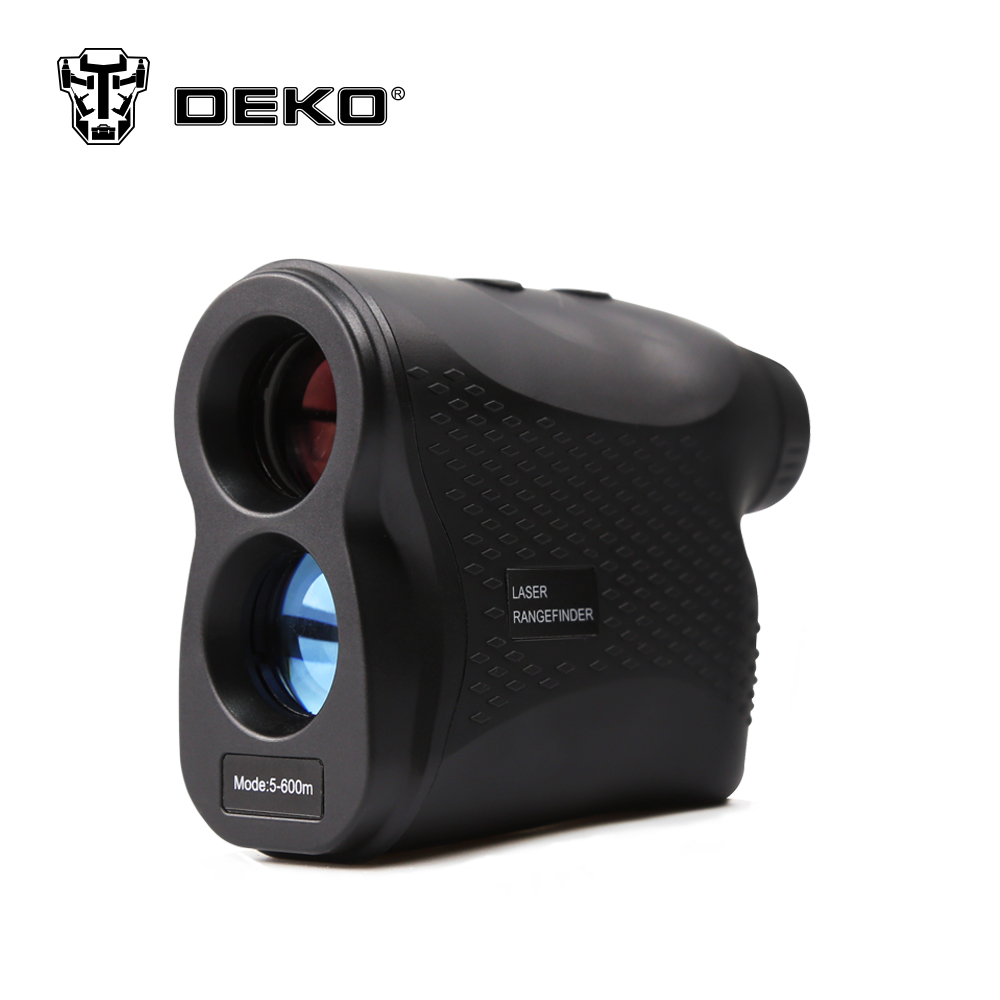 DEKOPRO laser rangefinder Golf Hunting measure Telescope Digital Monocular laser Distance Meter Speed Tester Laser Range finder 6x24mm handheld distance measure meter and speed measuring 500m golf laser rangefinder for hunting