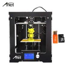 Высокая точность Анет A3 3D принтер алюминиевый горячий кровать точность RepRap Prusa i3 DIY 3D комплект принтера с нити 16 ГБ SD карты